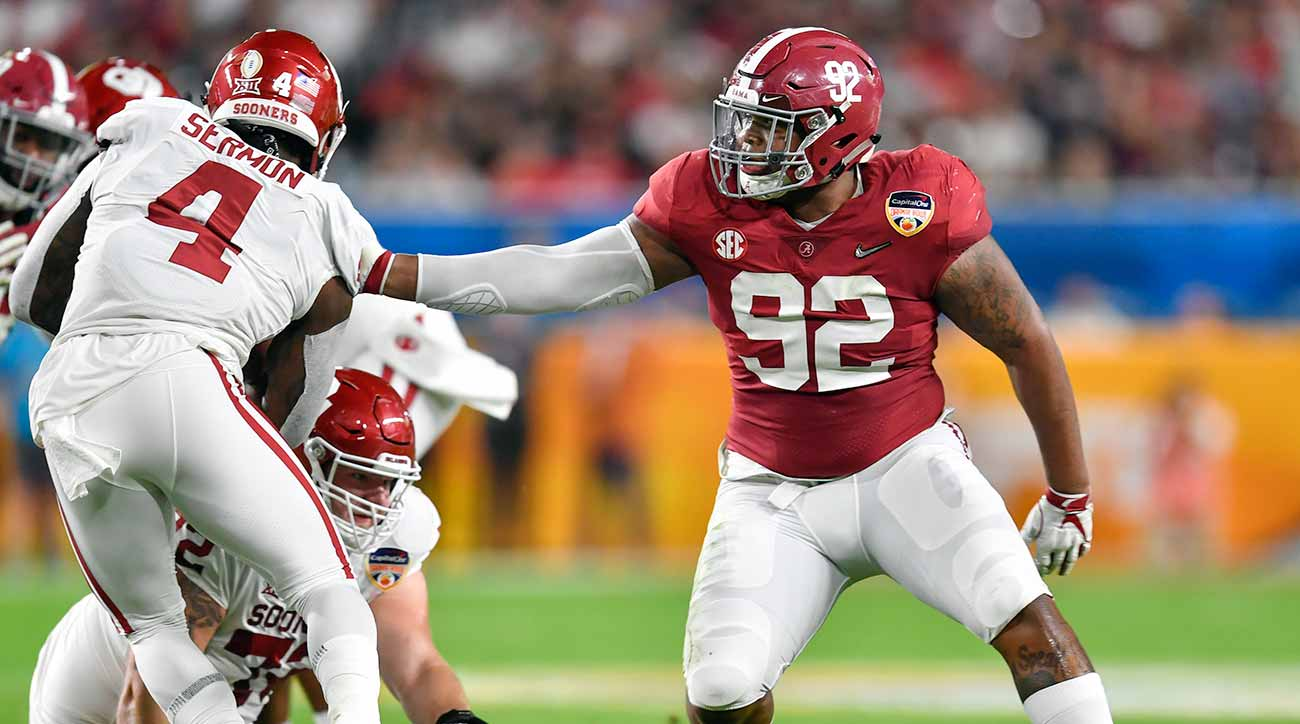 Alabama vs Oklahoma: Quinnen Williams, Crimson Tide defense prep for Clemson