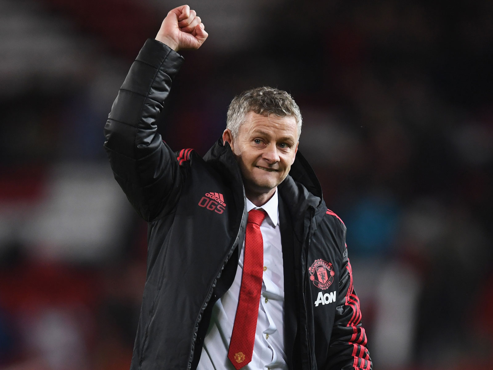 Ole Gunnar Solskjaer has won his first three games in charge at Man United