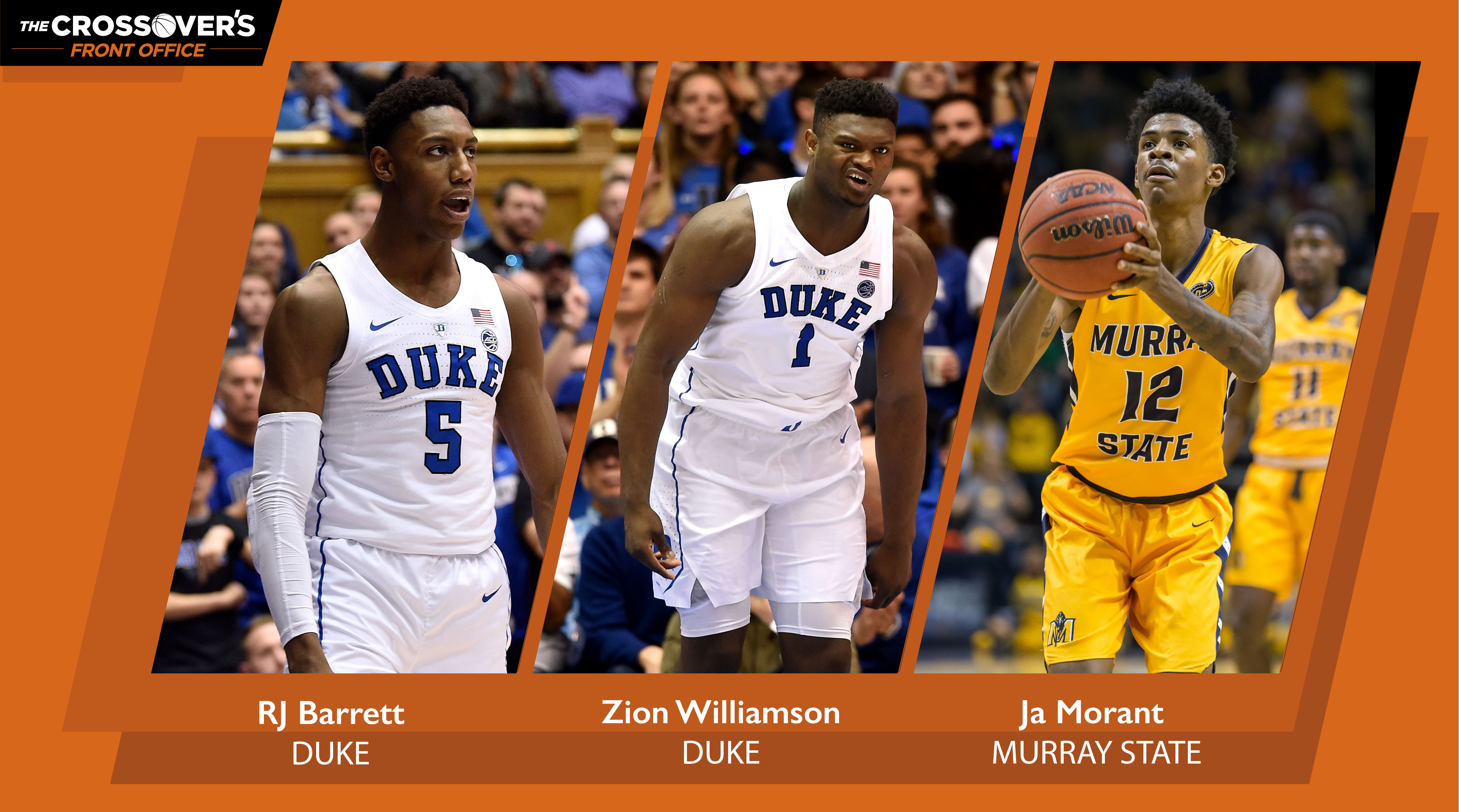 ce900e510ee6 2019 NBA Draft  Zion Williamson leads top 80 rankings