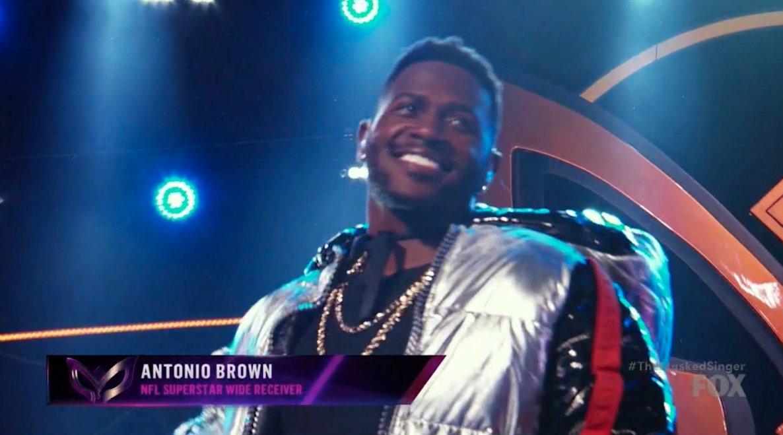 Antonio Brown: Steelers WR on Masked Singer TV show