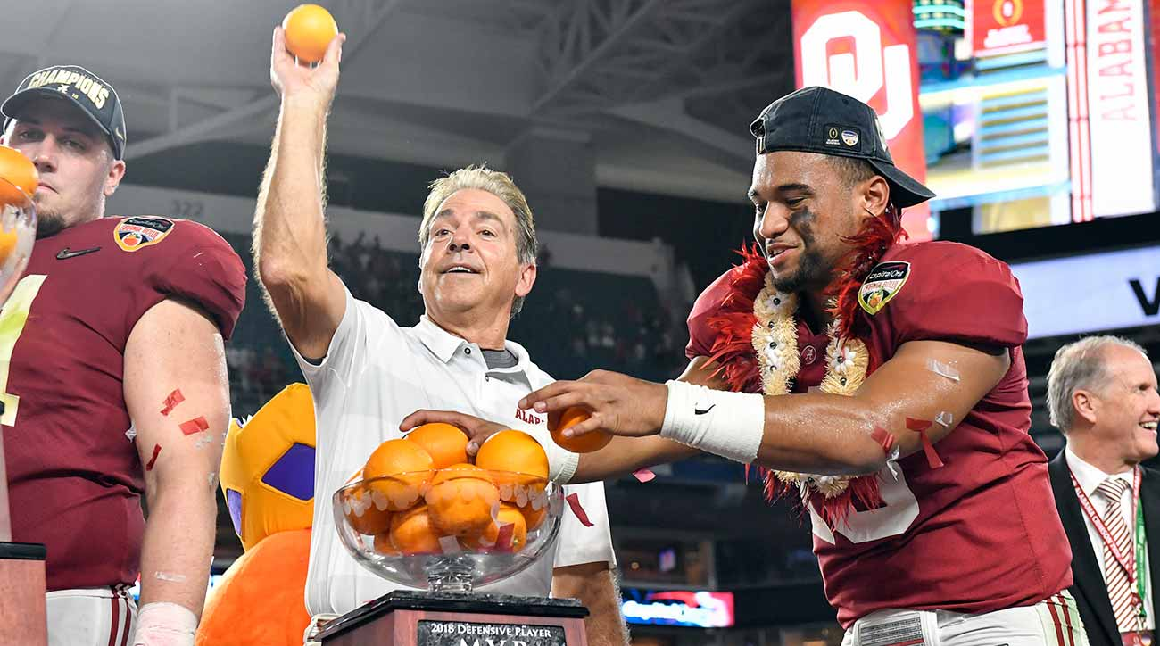 Nick Saban, Tua Tagovailoa and Alabama's fun offense