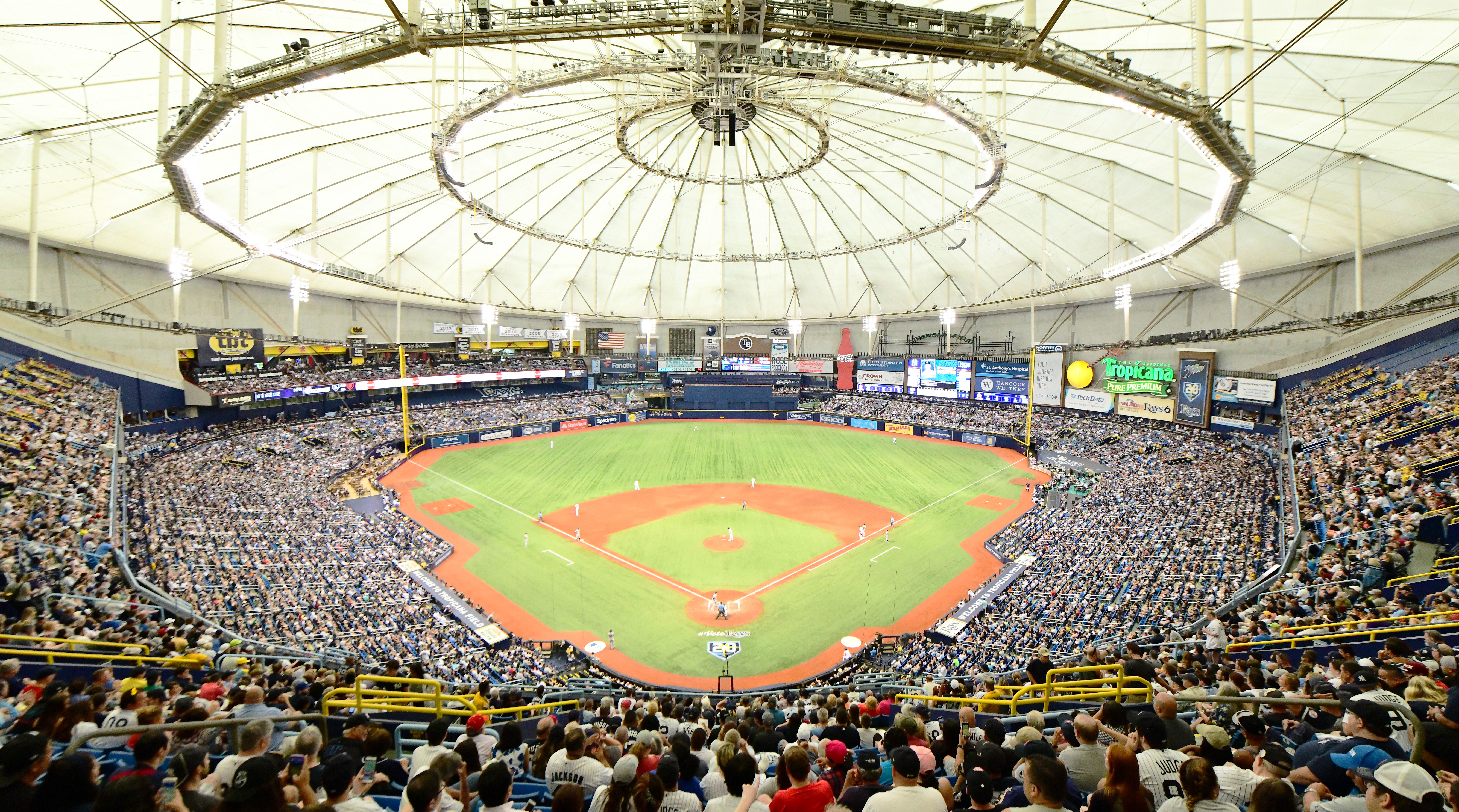 Rays Close Upper Deck Seating Lower Capacity To 26000 Sicom