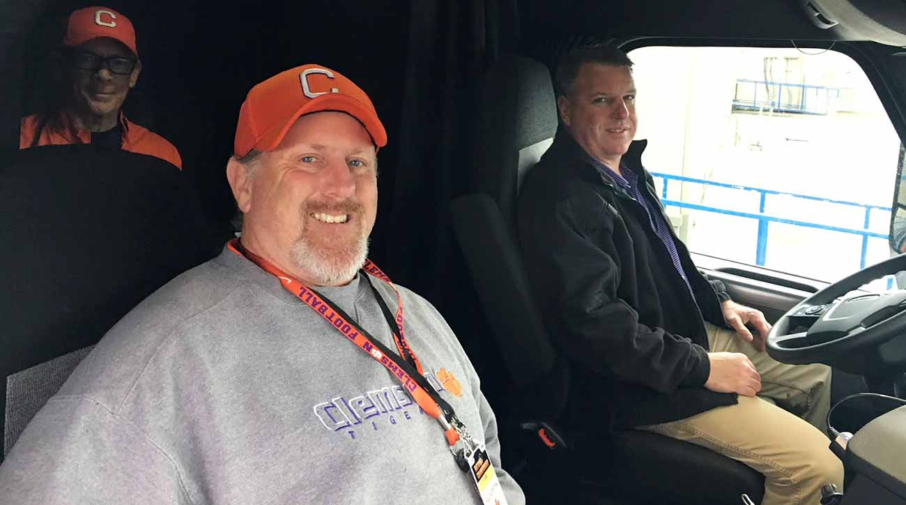Clemson vs. Alabama: College Football Playoff a long haul for equipment truck