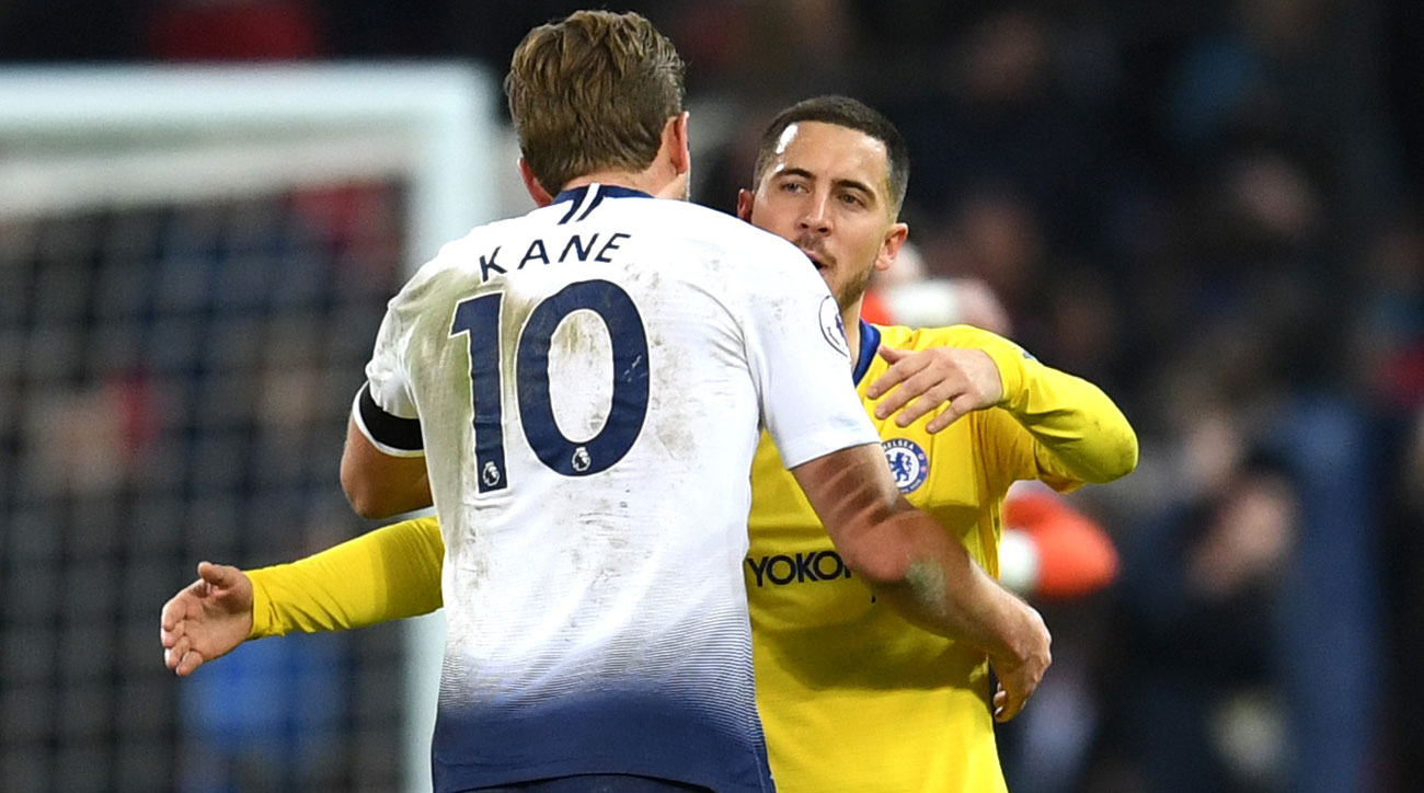 Tottenham hosts Chelsea in the first leg of the League Cup semifinals