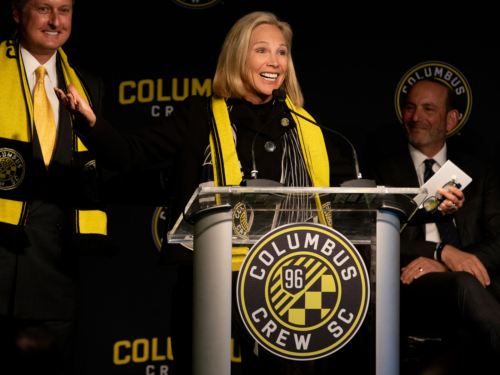 Dee Haslam is part of the Columbus Crew's new ownership