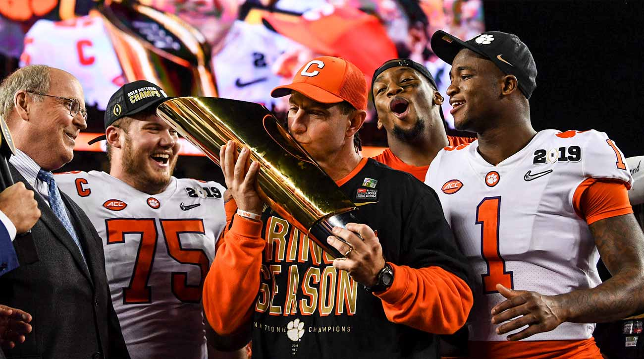 Clemson, Alabama comfortable as different dynasties