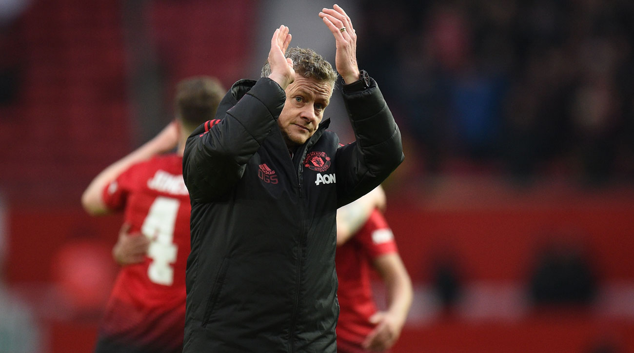 Ole Gunnar Solskjaer is has a perfect record as Manchester United caretaker manager