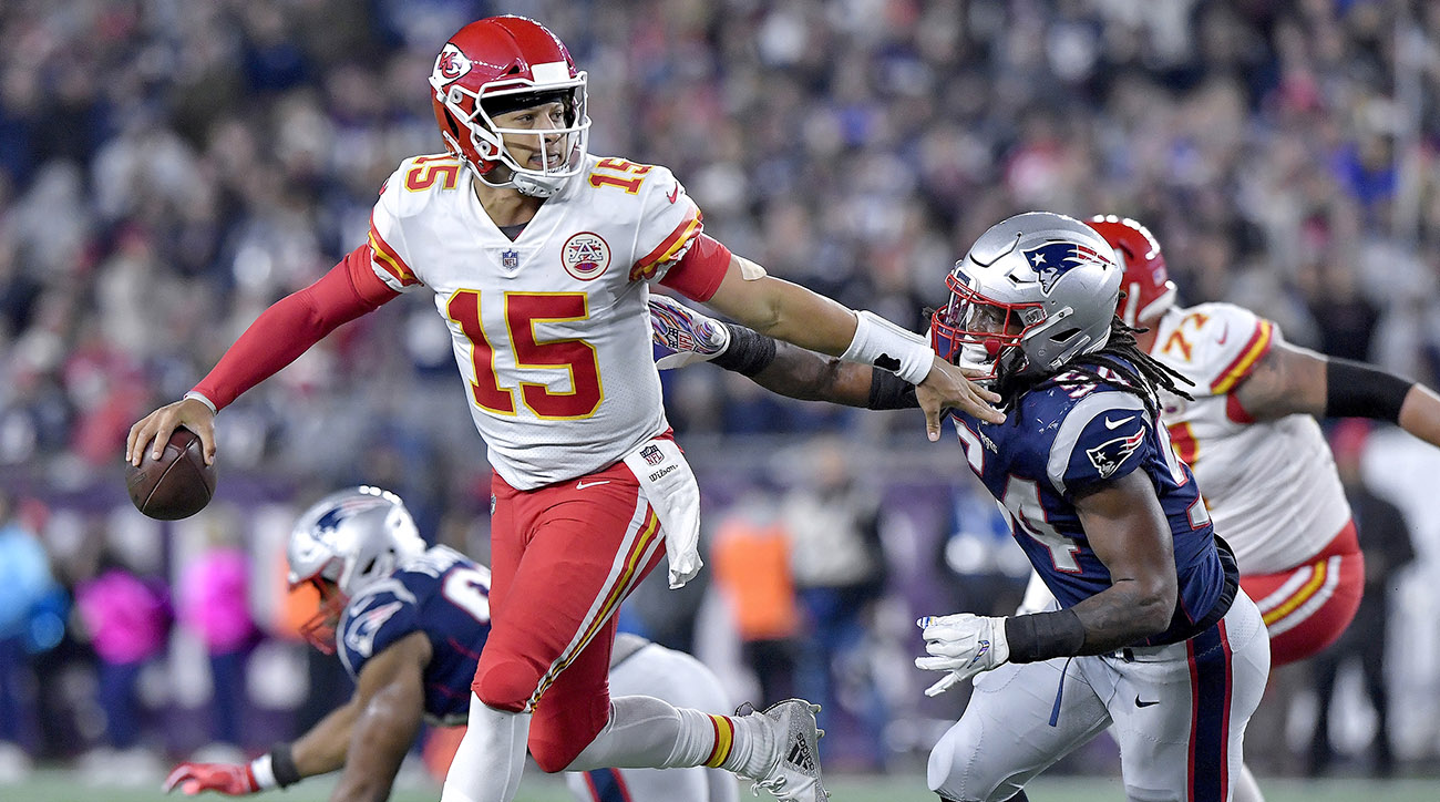 Kansas City Chiefs vs. New England Patriots