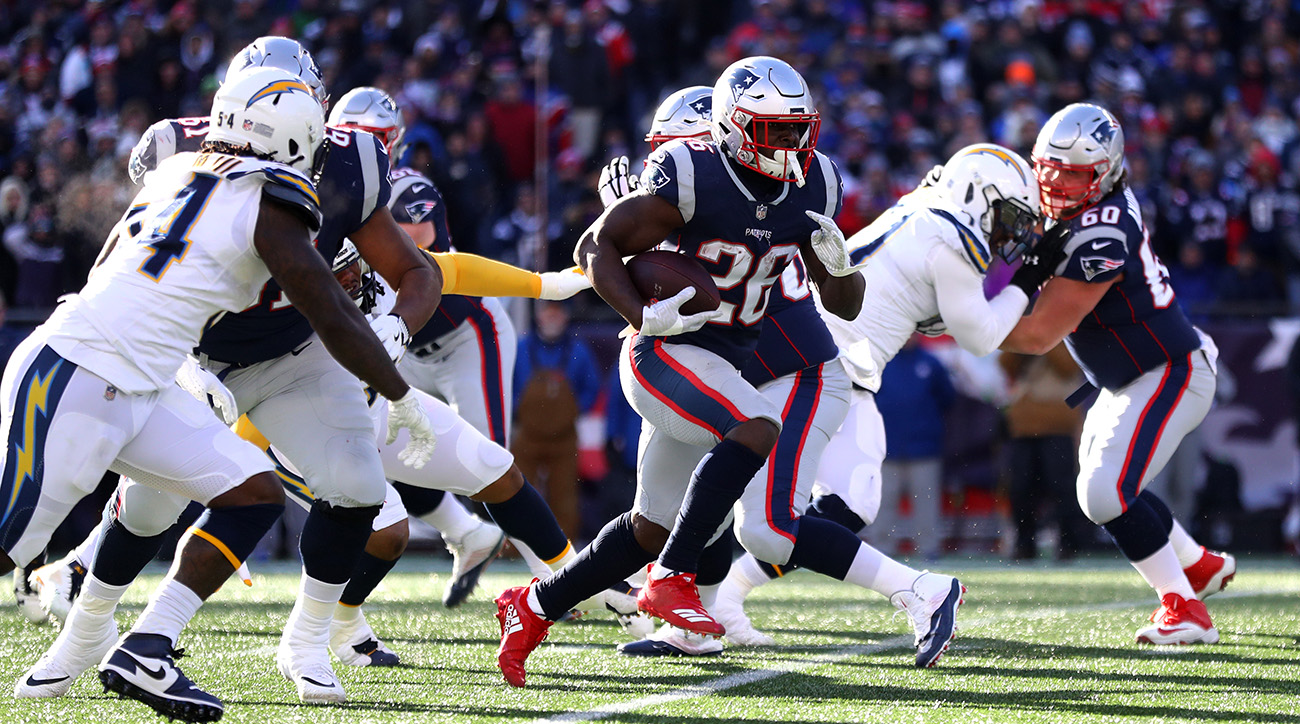 Patriots RB Sony Michel
