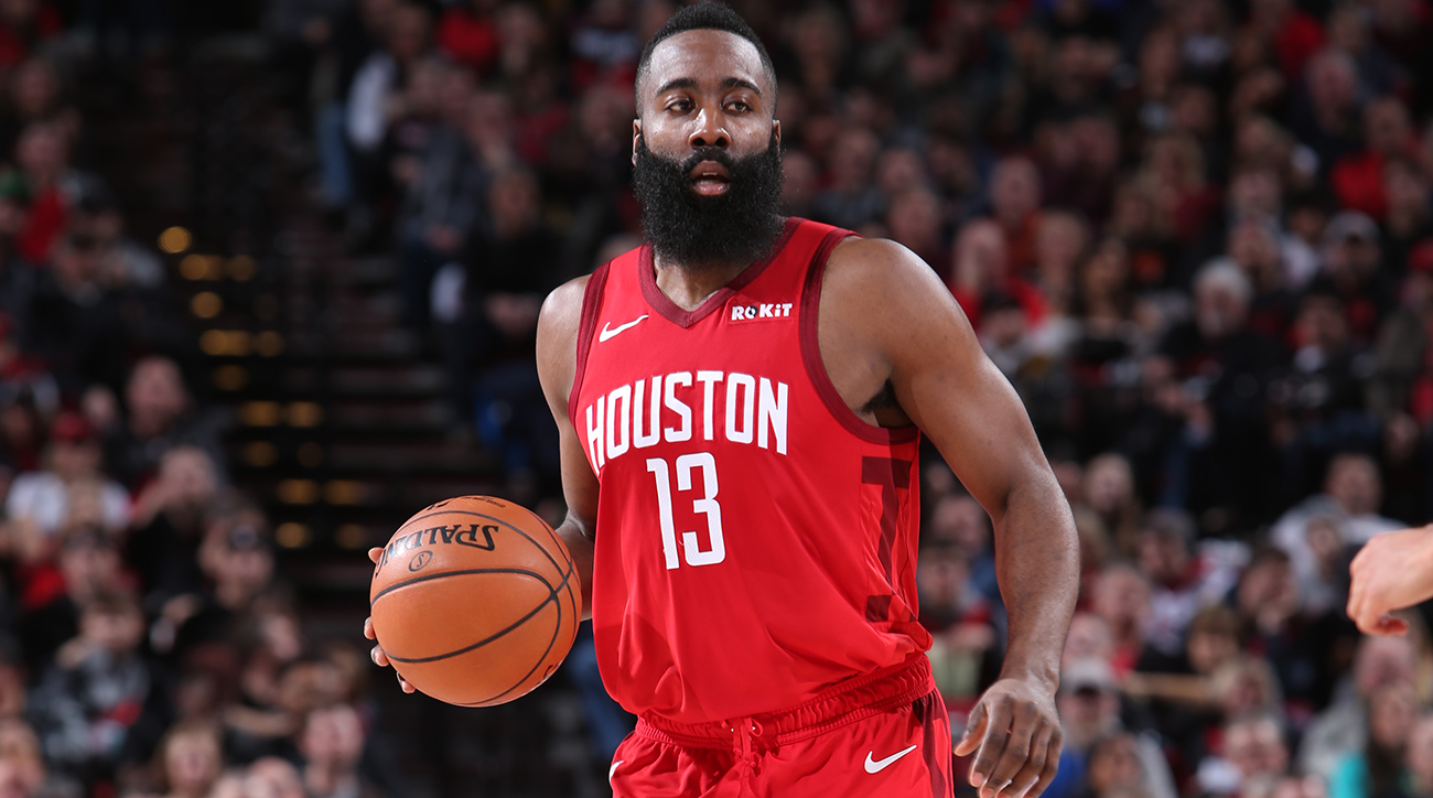 468d928bcbf9 2018-19 NBA Midseason Awards  Can James Harden Win His Second Consecutive  MVP