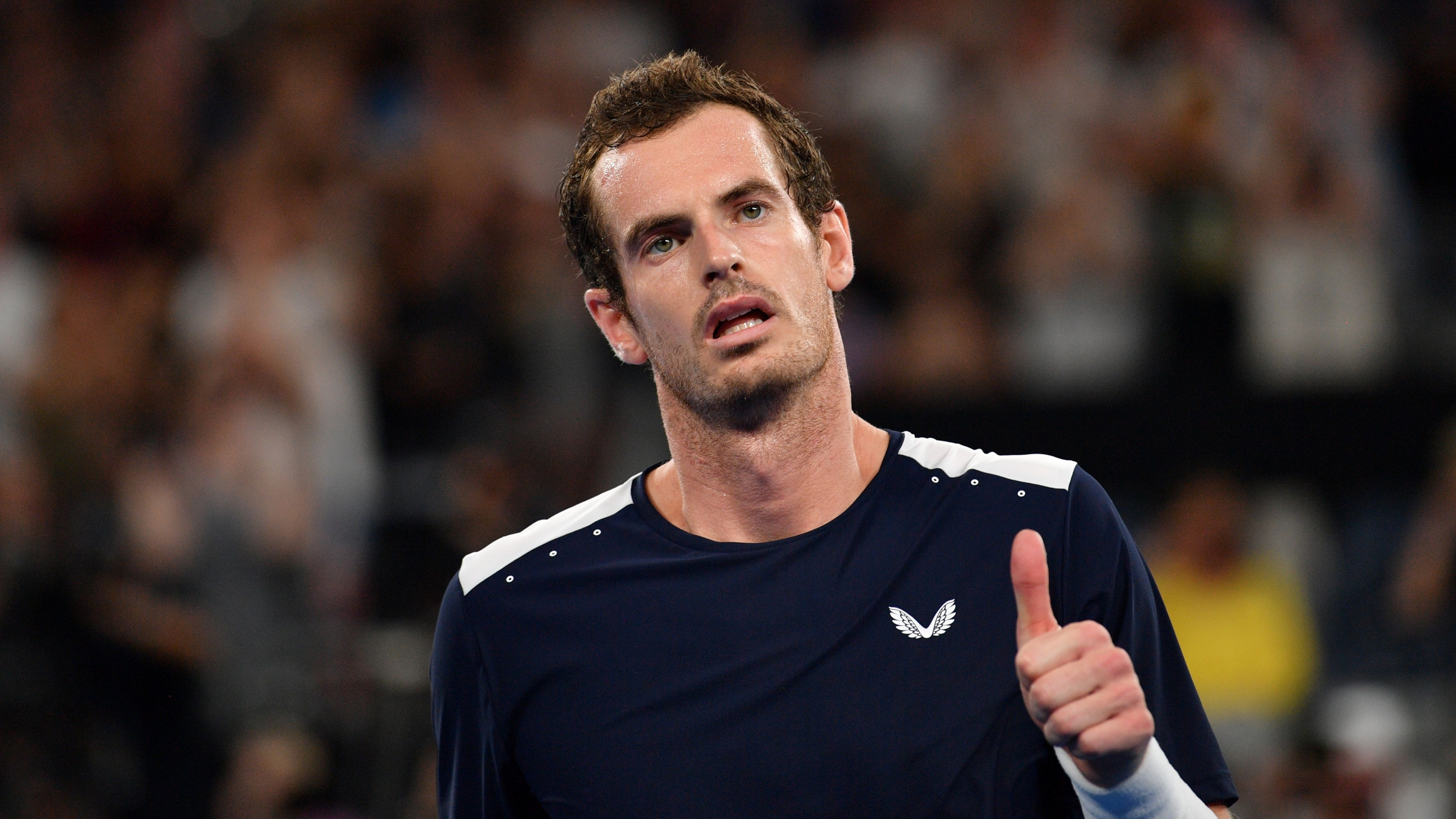 Andy Murray loses retire hip australian open