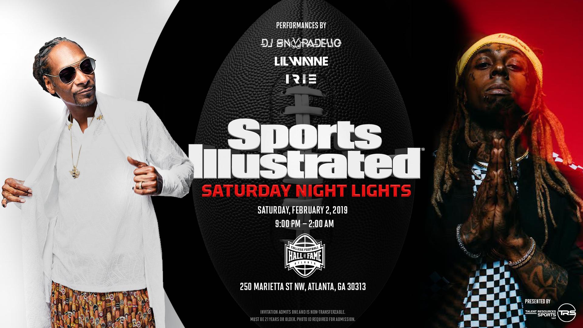 Sports Illustrated Saturday Night Lights Party in Atlanta