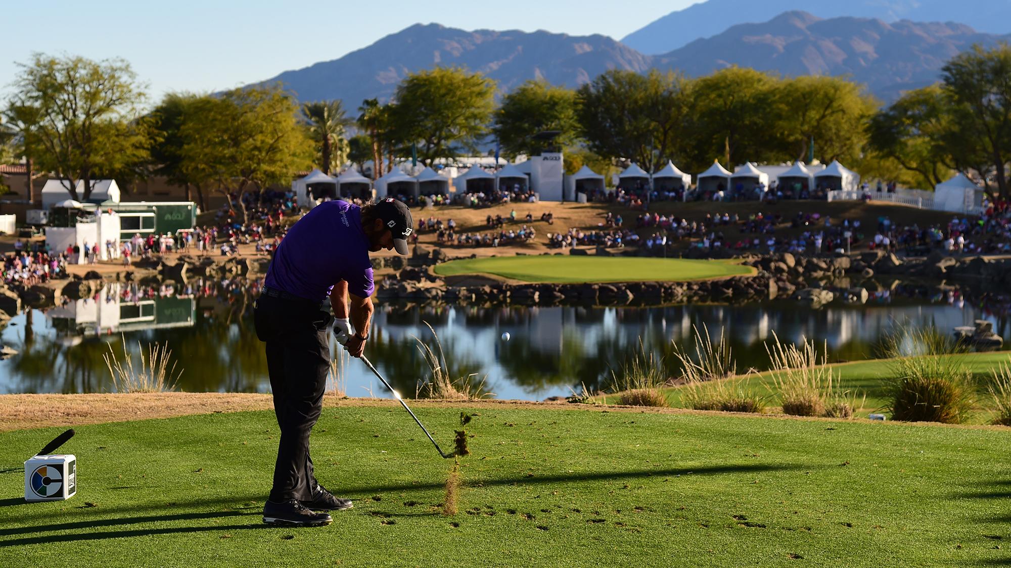 PGA West Stadium Course 17th hole