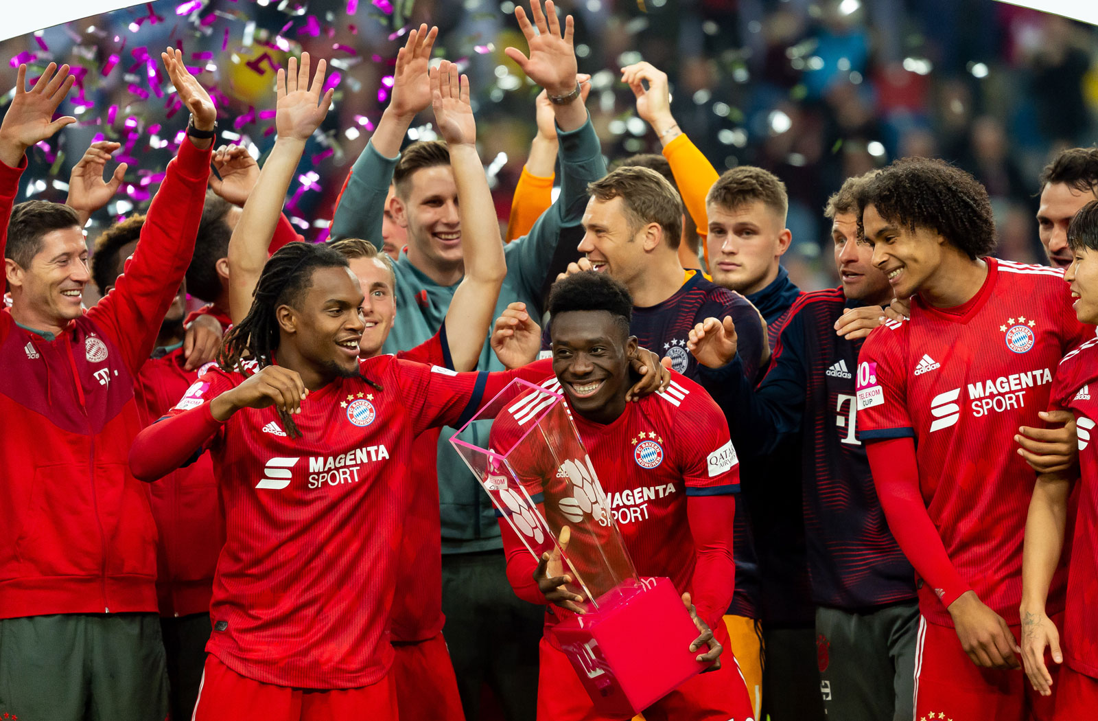 Alphonso Davies joined Bayern Munich from the Vancouver Whitecaps