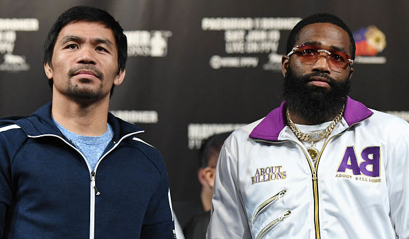 Pacquiao Broner odds