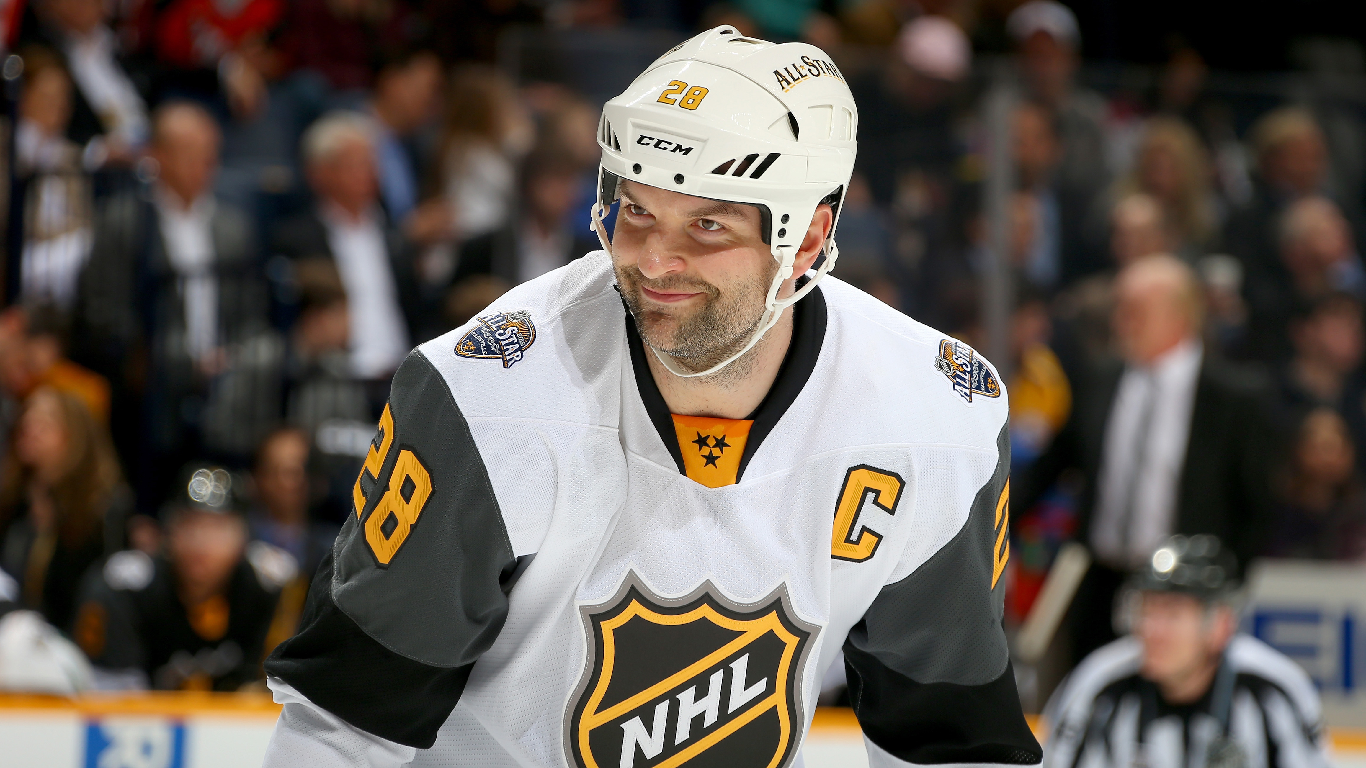 John Scott: NHL player falls in frozen lake, almost dies
