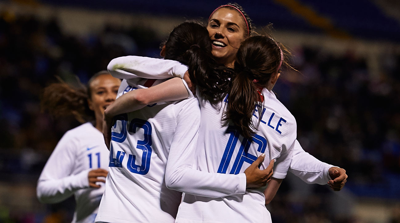 The USWNT lost to France but beat Spain in friendlies in Europe