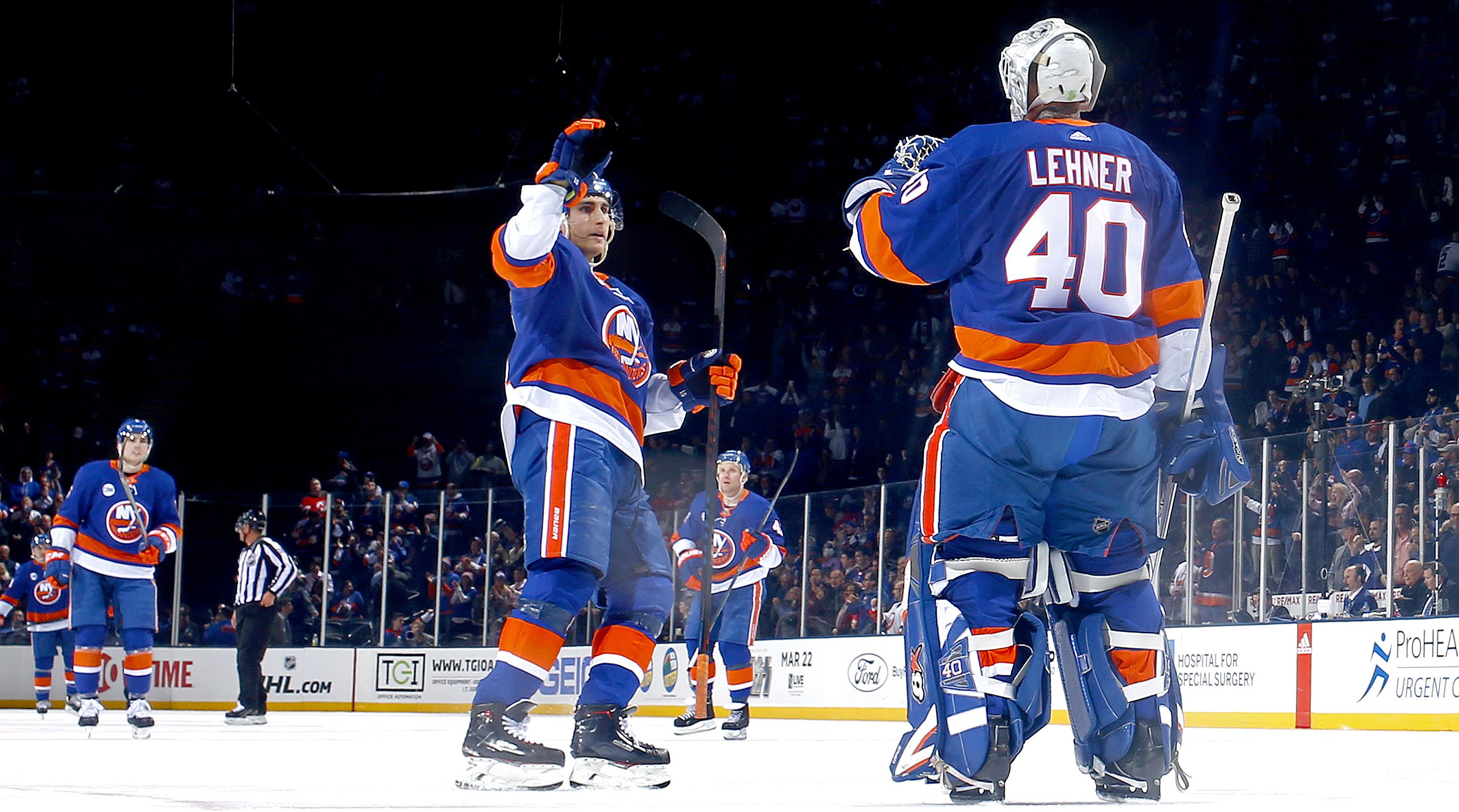 size 40 544bd 8d7c7 Robin Lehner, Islanders enter All-Star break as NHL's ...