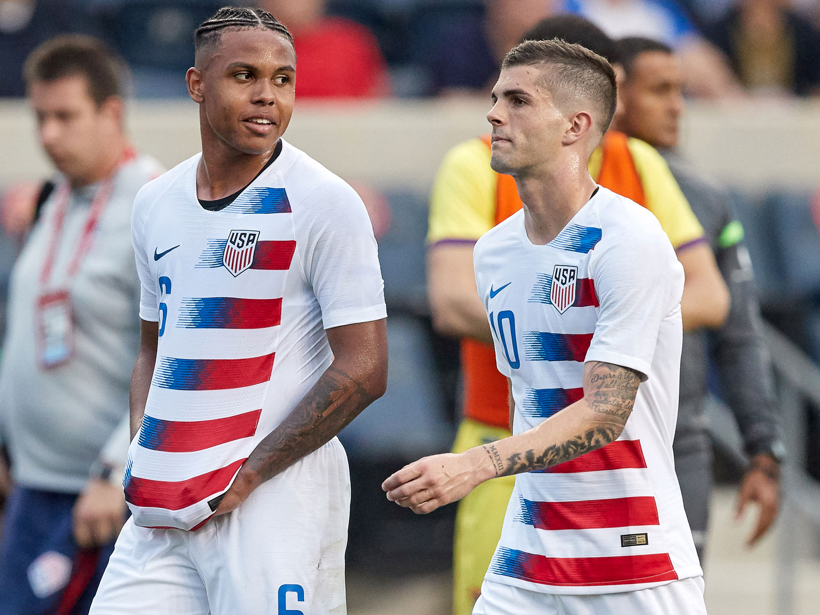 Weston McKennie and Christian Pulisic could form a strong midfield partnership with the USMNT