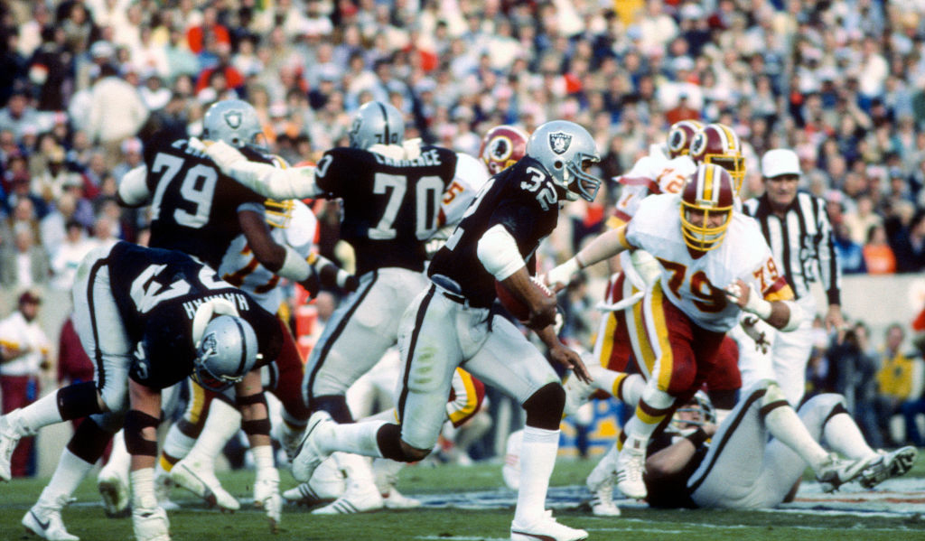 Super Bowl XVIII - Washington Redskins v Los Angeles Raiders