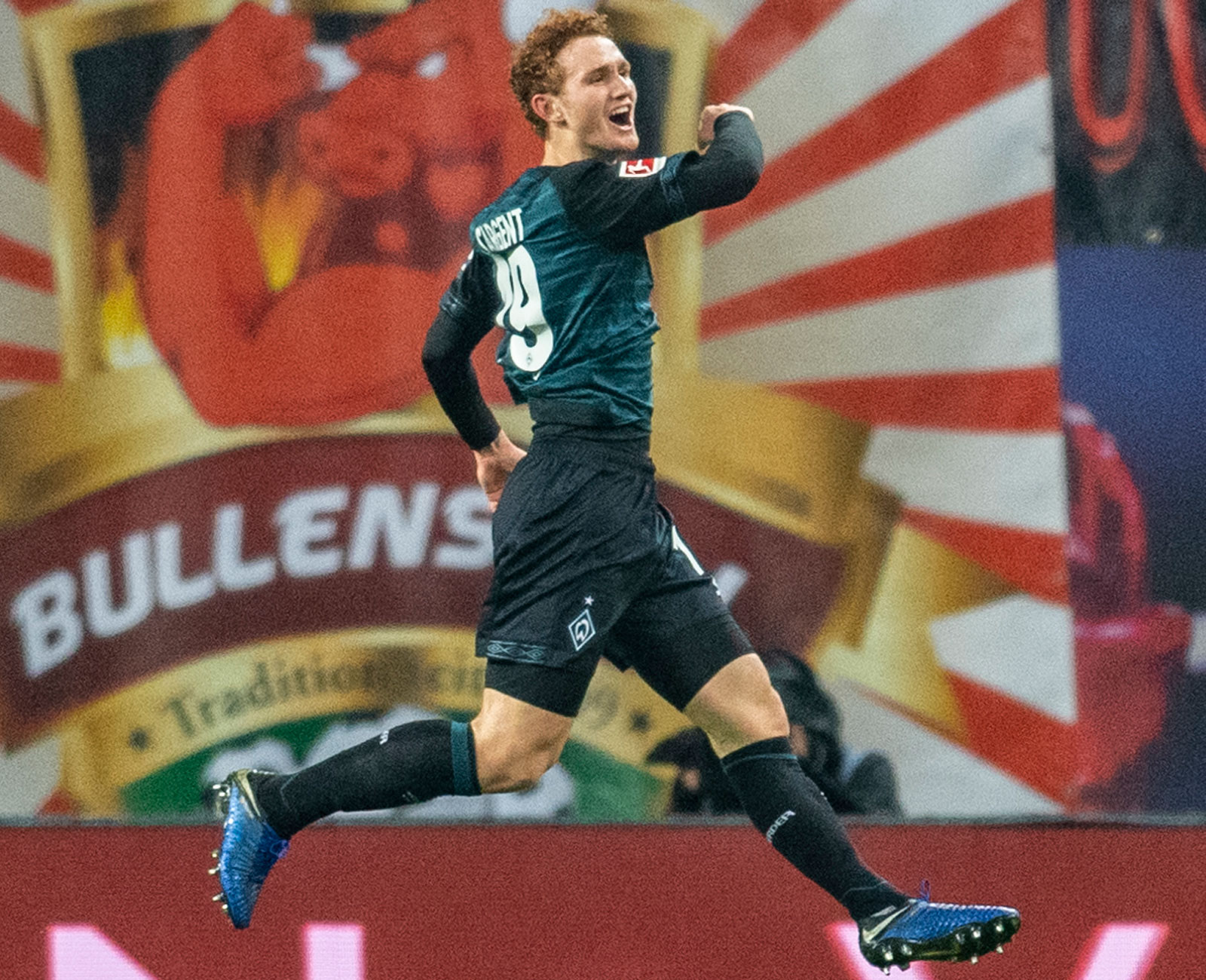 Josh Sargent scores for Werder Bremen in the Bundesliga