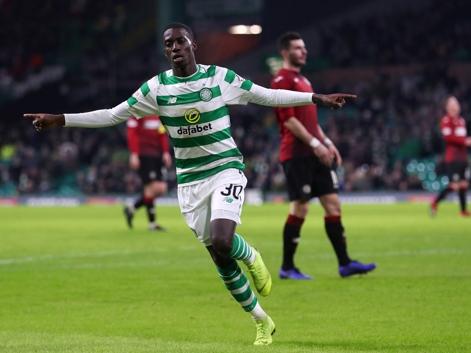 Tim Weah scores for Celtic vs. St. Mirren