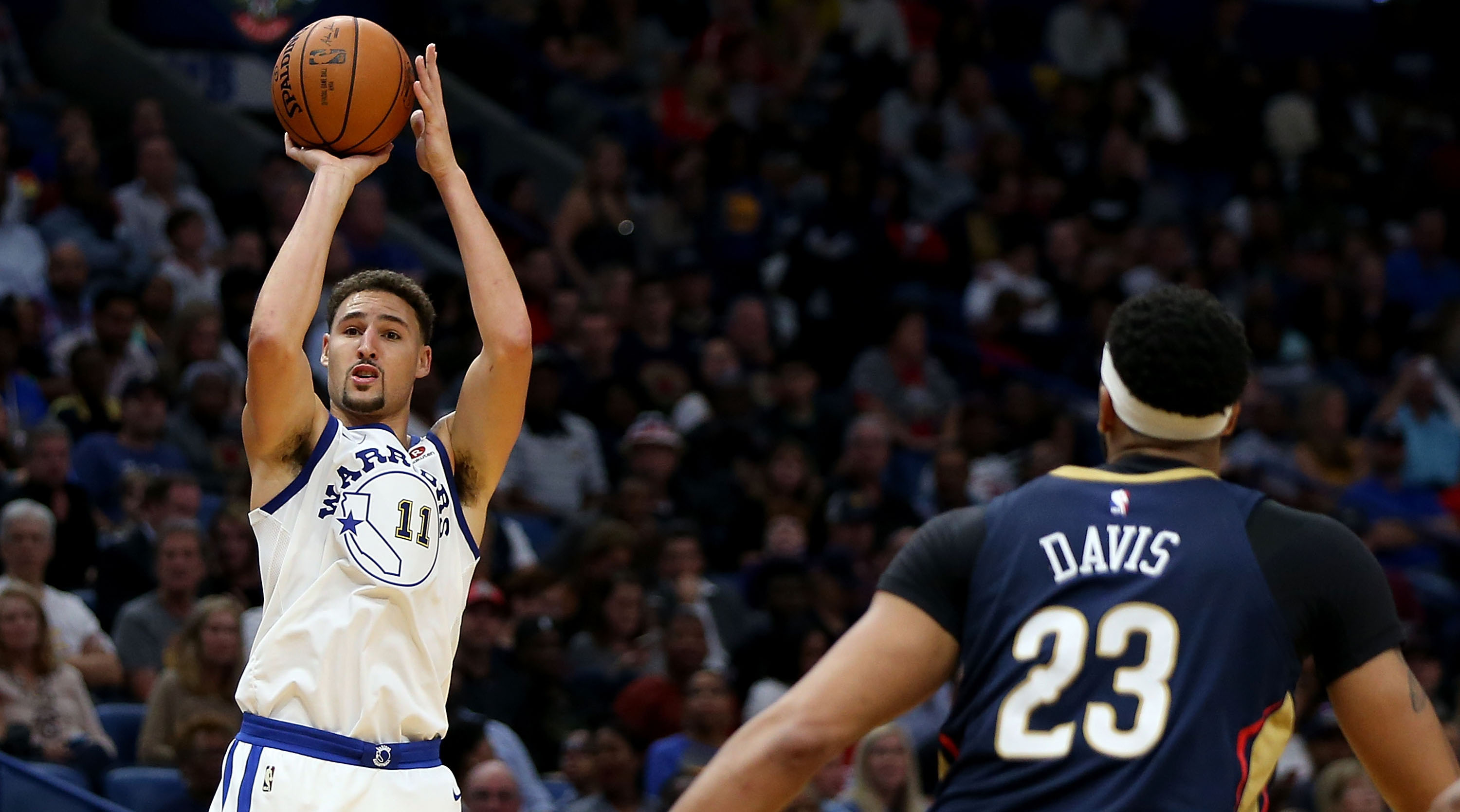 38c50e0ad NBA rumors  Klay Thompson interested in Lakers with Anthony Davis ...