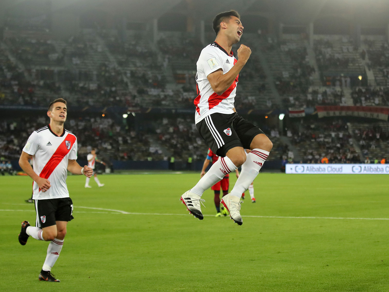 Pity Martinez scores in the FIFA Club World Cup for River Plate