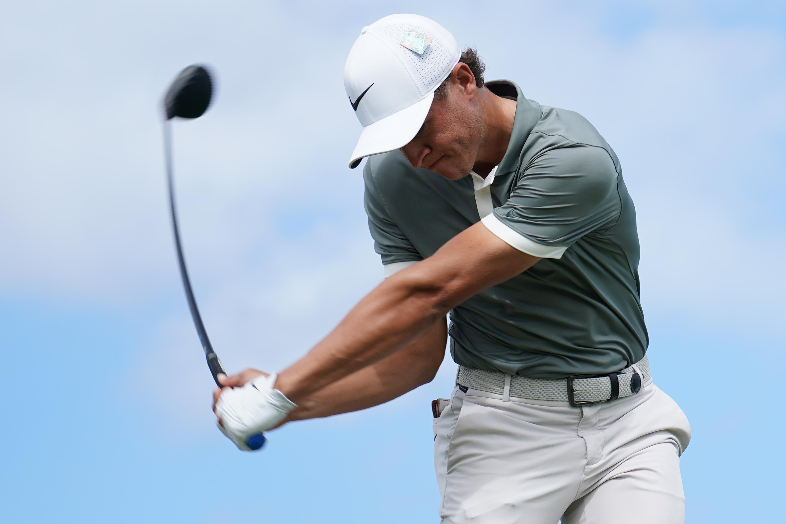 Cameron Champ driver golf ball rollback distance