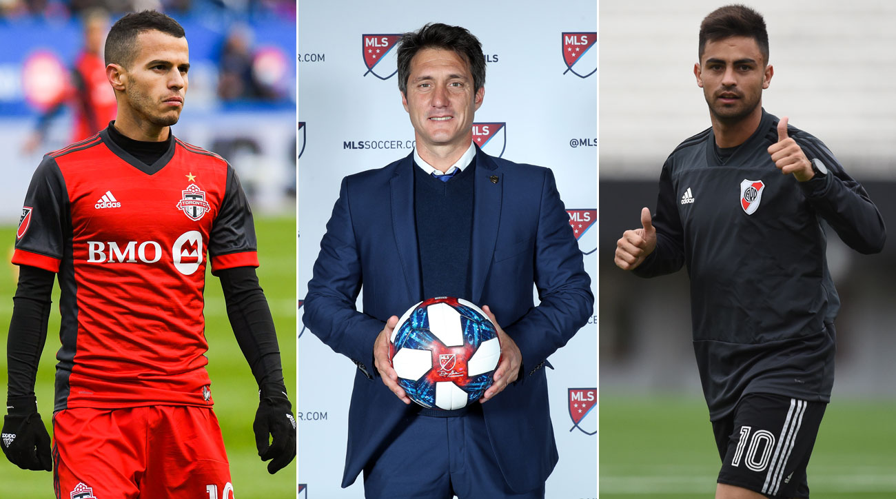Sebastian Giovinco, Guillermo Barros Schelotto and Pity Martinez have been part of a big MLS offseason