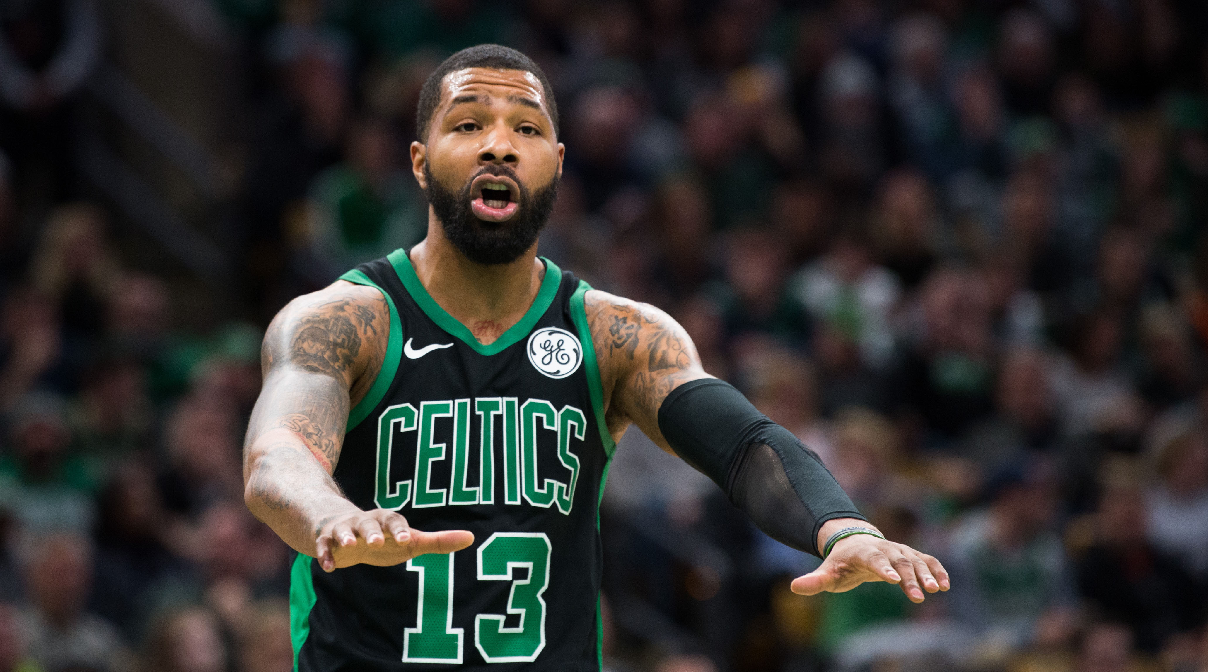 Marcus Morris on Celtics after getting booed off home curt