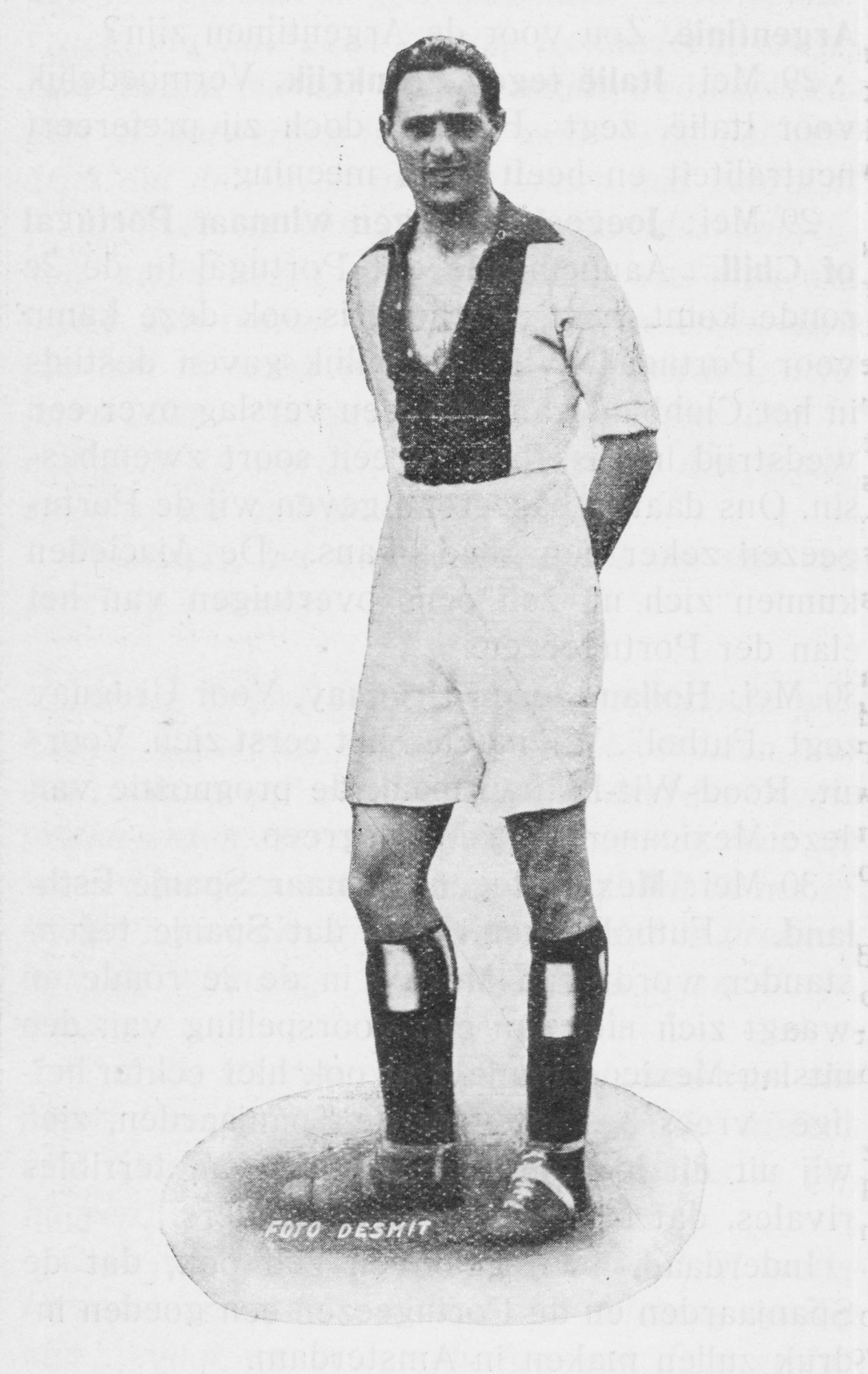 Eddy Hamel was an American-born player for Ajax who was killed in the Holocaust.