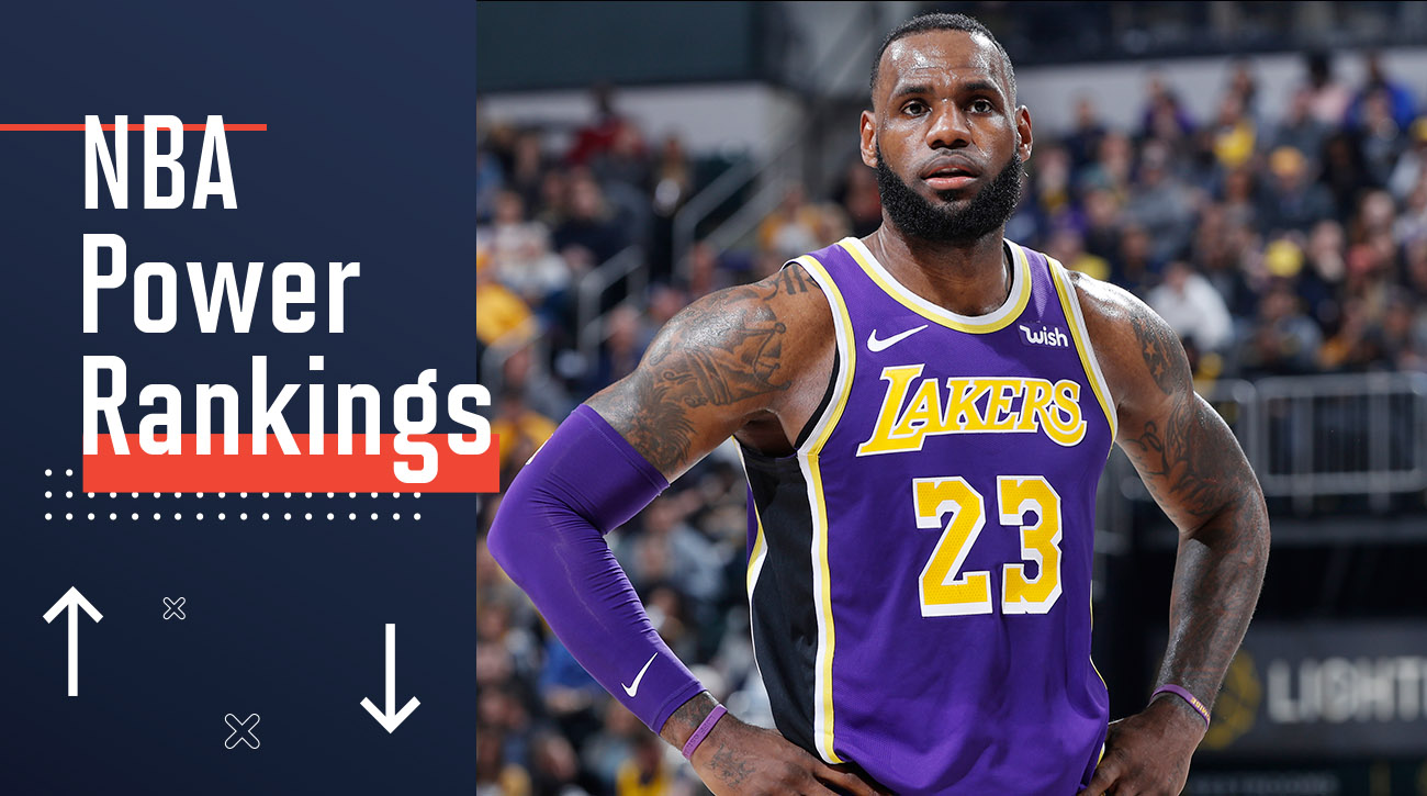 af0e7bb22fe44 NBA Power Rankings: LeBron James and the Lakers next steps | SI.com