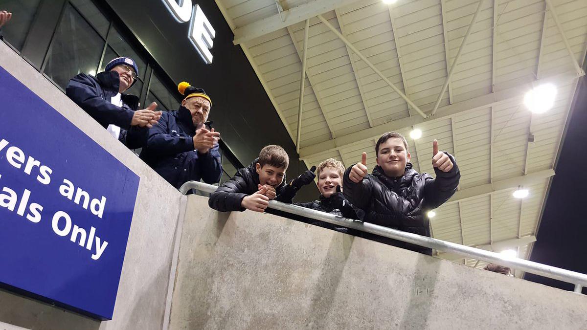 AFC Fylde: Teens trick PA announcer with lewd 'NE14 ABJ' pun (video)