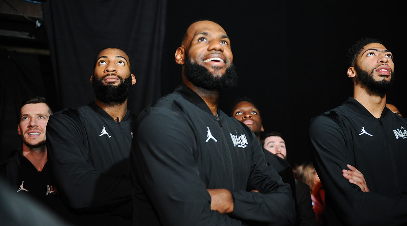 NBA All-Star Game rosters, who is on Team LeBron, Who is on Team Giannis, team lebron roster, team giannis roster, giannis anteotkounmpo, 2019 NBA all star game, 2019 NBA all star game rosters