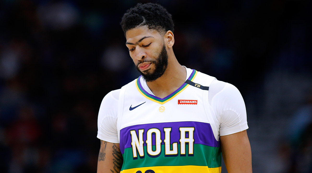 Alvin Gentry Calls the Anthony Davis Saga a 'Dumpster Fire'