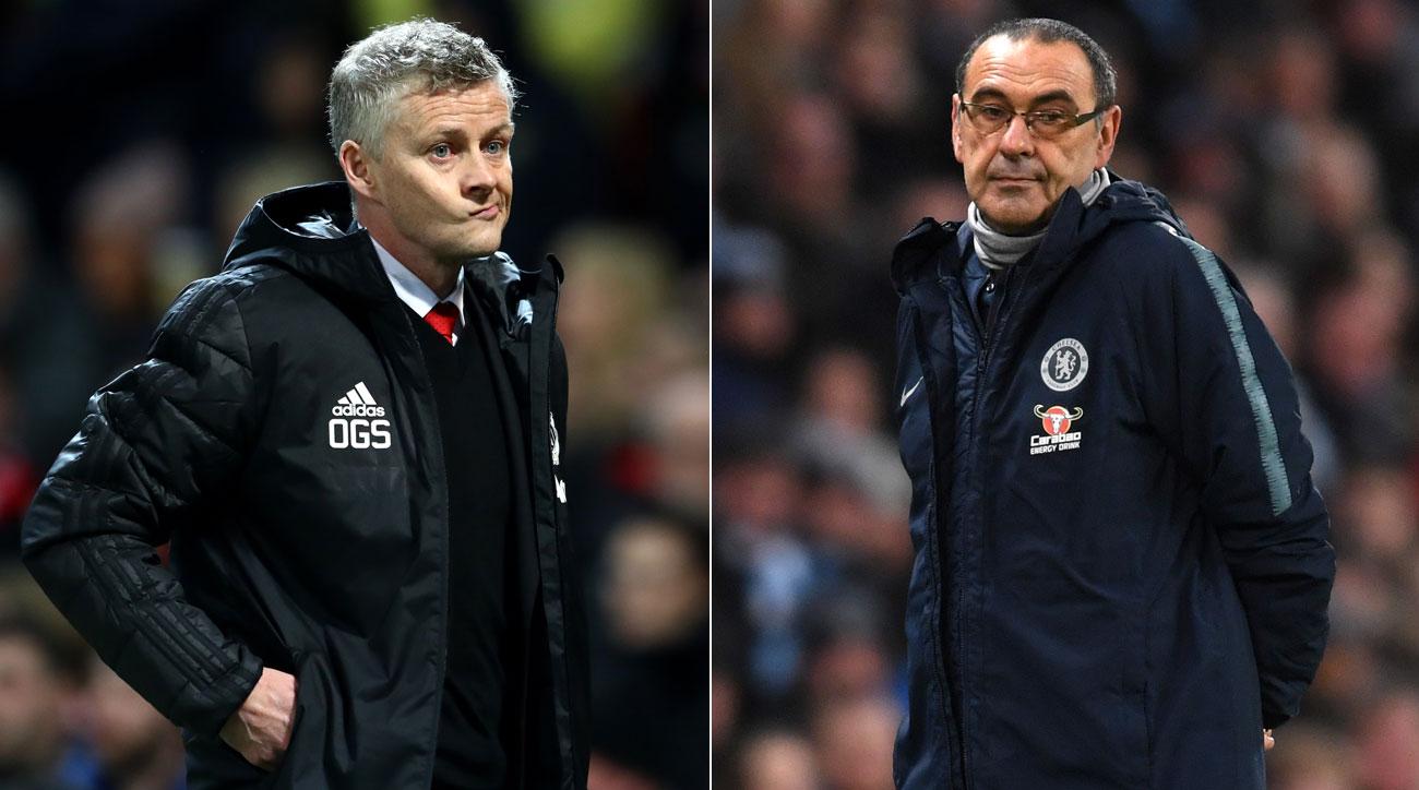 Ole Gunnar Solskjaer and Maurizio Sarri lead Man United and Chelsea into their FA Cup clash