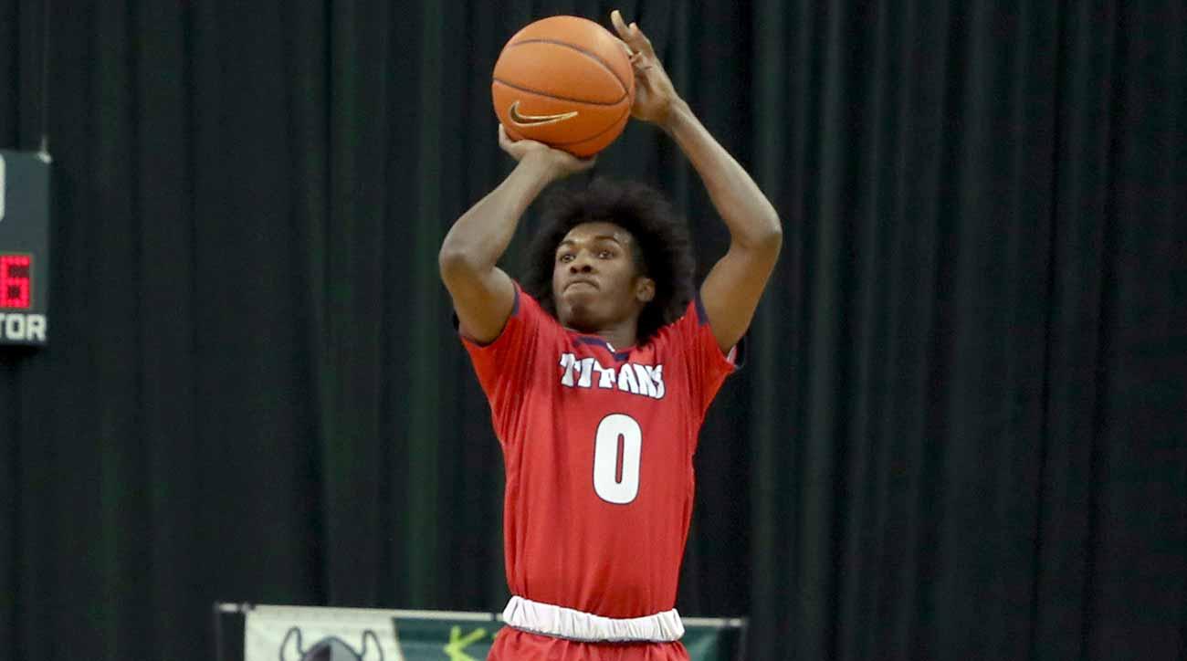 NCAA freshman three point record: Detroit's Antoine Davis passes Steph Curry