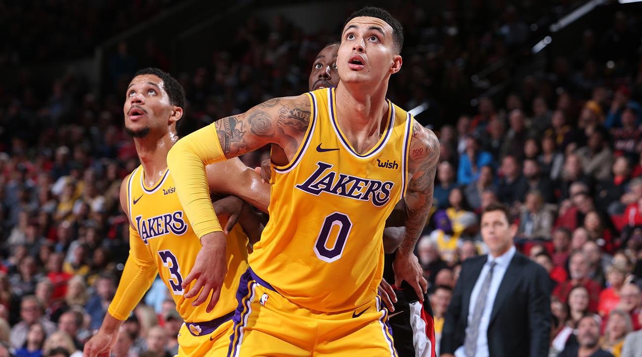 a80e5769156 Los Angeles Lakers v Portland Trail Blazers
