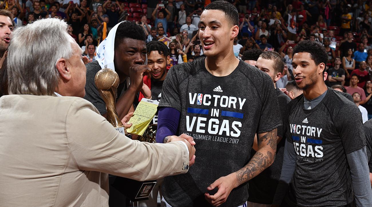 2017 Las Vegas Summer League - Portland Trail Blazers v Los Angeles Lakers