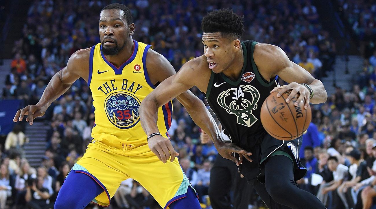 Milwaukee Bucks v Golden State Warriors