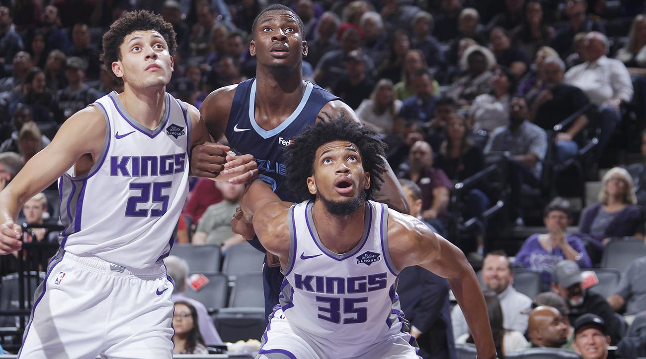 Memphis Grizzlies v Sacramento Kings