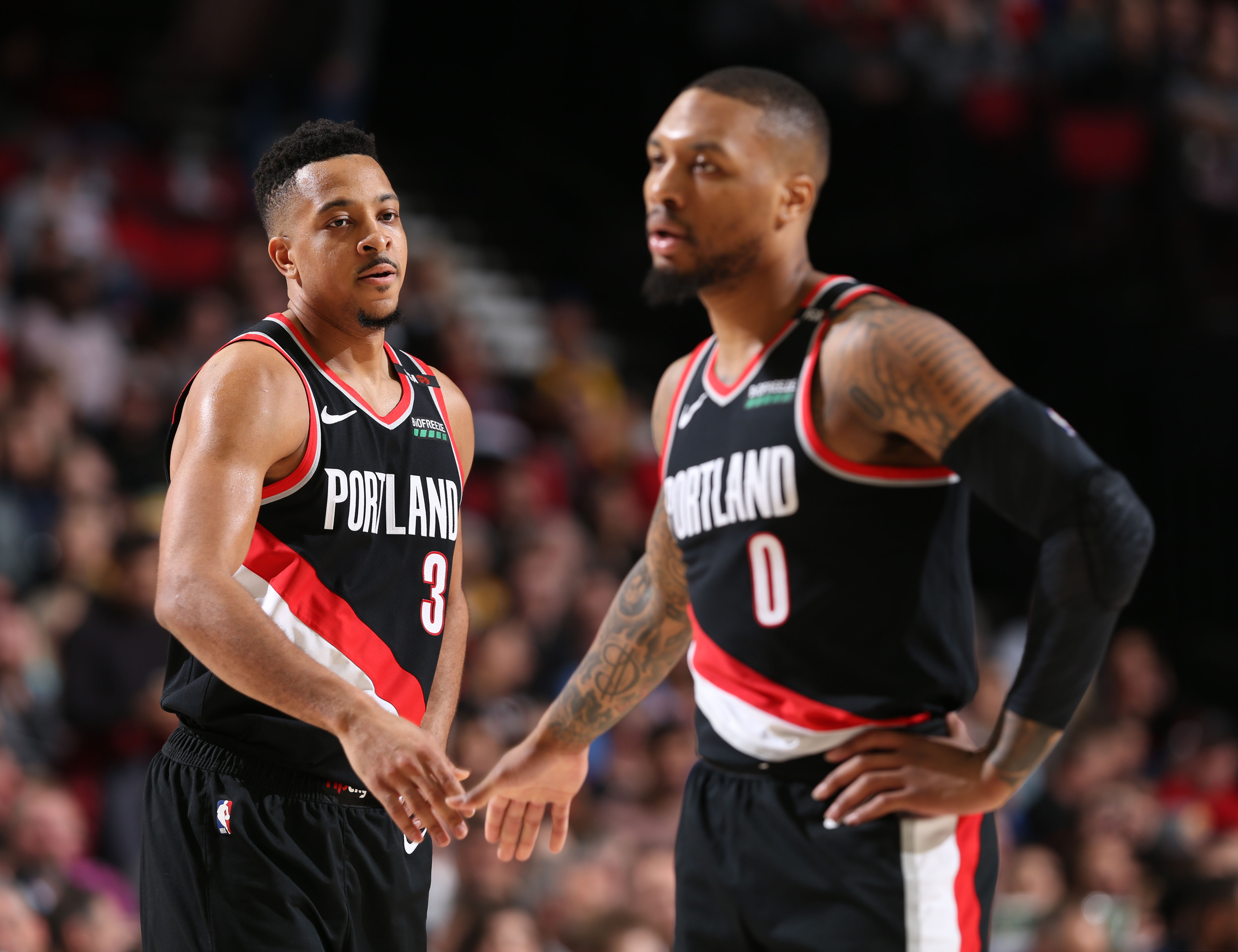 Blazers stuck in Boston elevator for 30 minutes