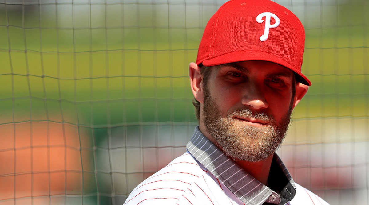 Bryce Harper accidently says DC instead of Philly