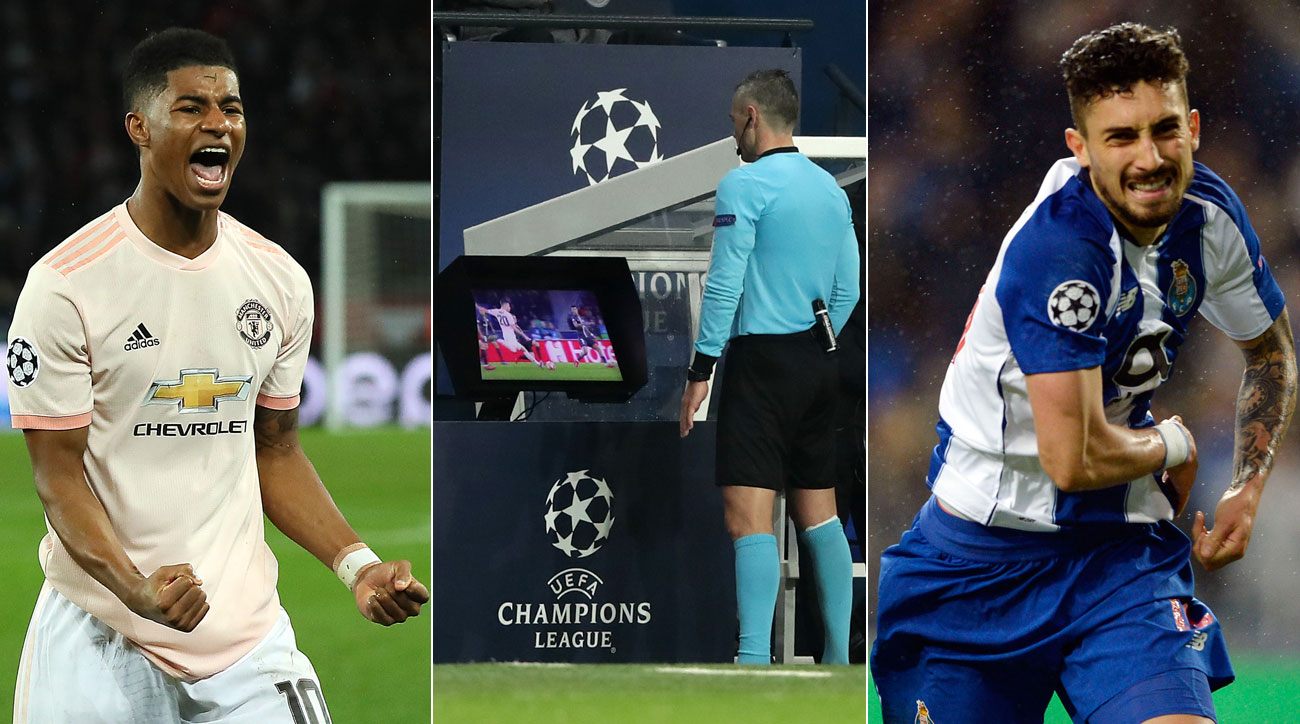 VAR-given PKs send Man United, Porto through in Champions League