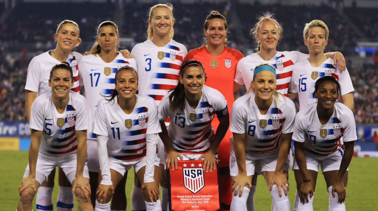 The U.S. women's national team is suing U.S. Soccer again