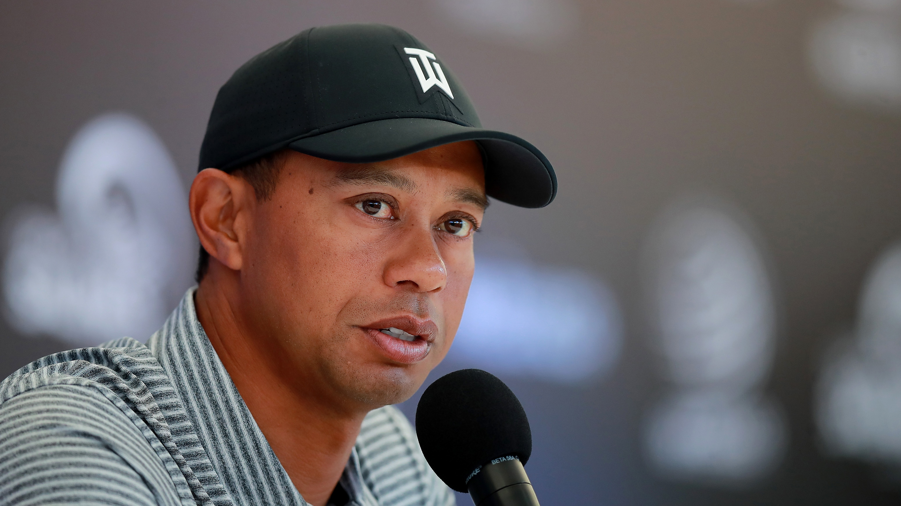 Tiger Woods speak media next injury players championship