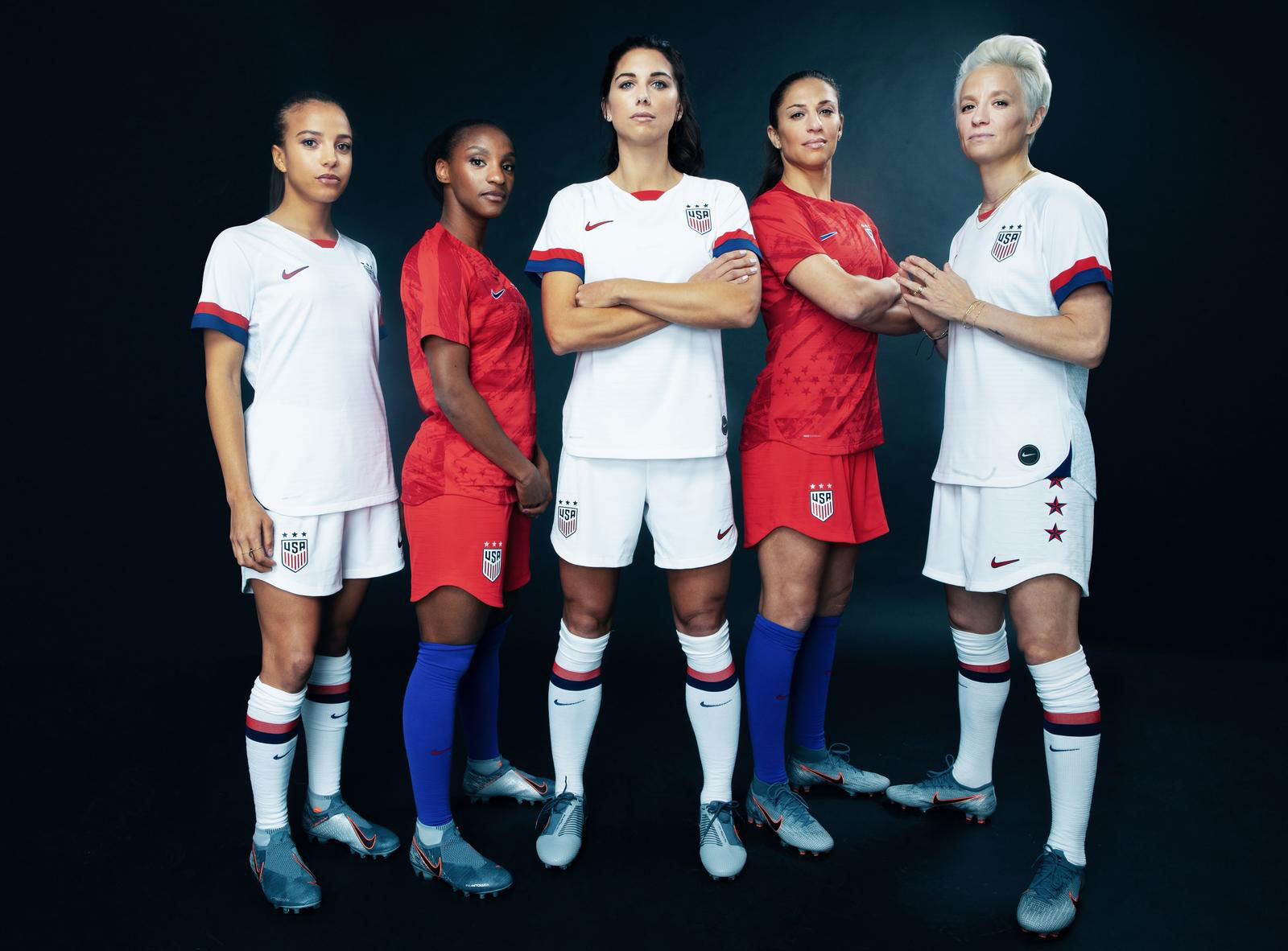The USWNT reveals its kit for the 2019 Women's World Cup