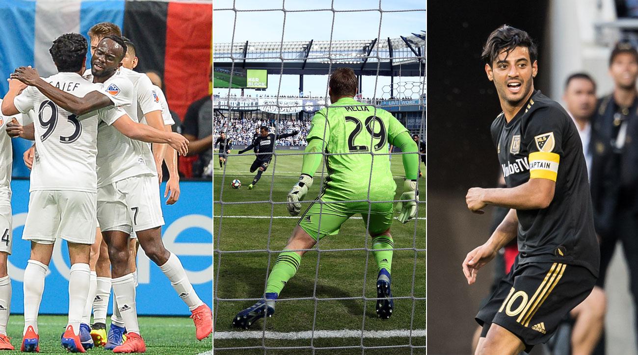 FC Cincinnati, Sporting Kansas City and LAFC all secured key results in MLS Week 2