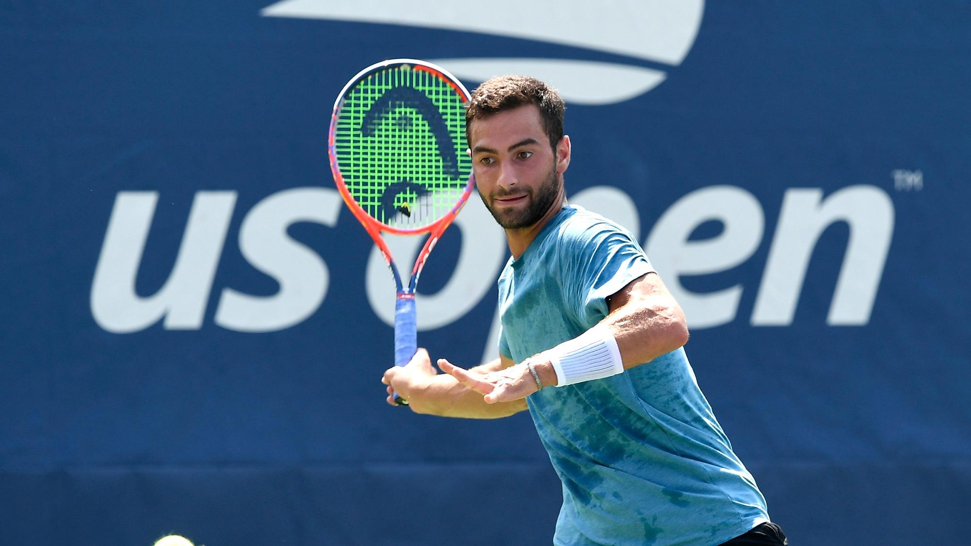 Noah Rubin behind the racquet instagram account
